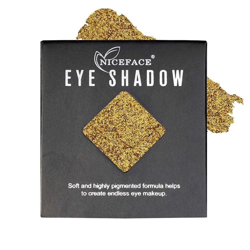 Sclipici ochi pulbere compacta NiceFace Precious Glam #01 poza