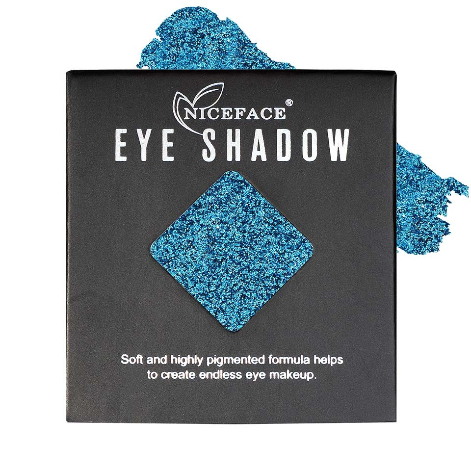 Sclipici ochi pulbere compacta NiceFace Precious Glam #11 poza