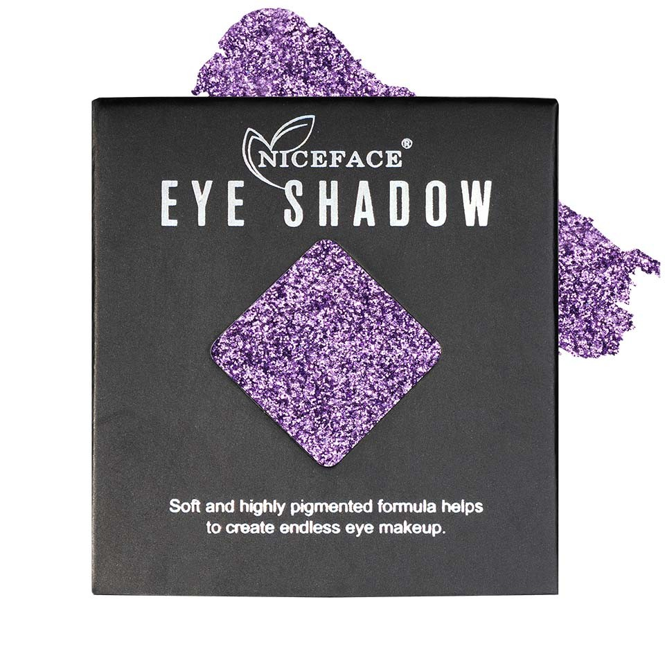 Sclipici ochi pulbere compacta NiceFace Precious Glam #31 poza