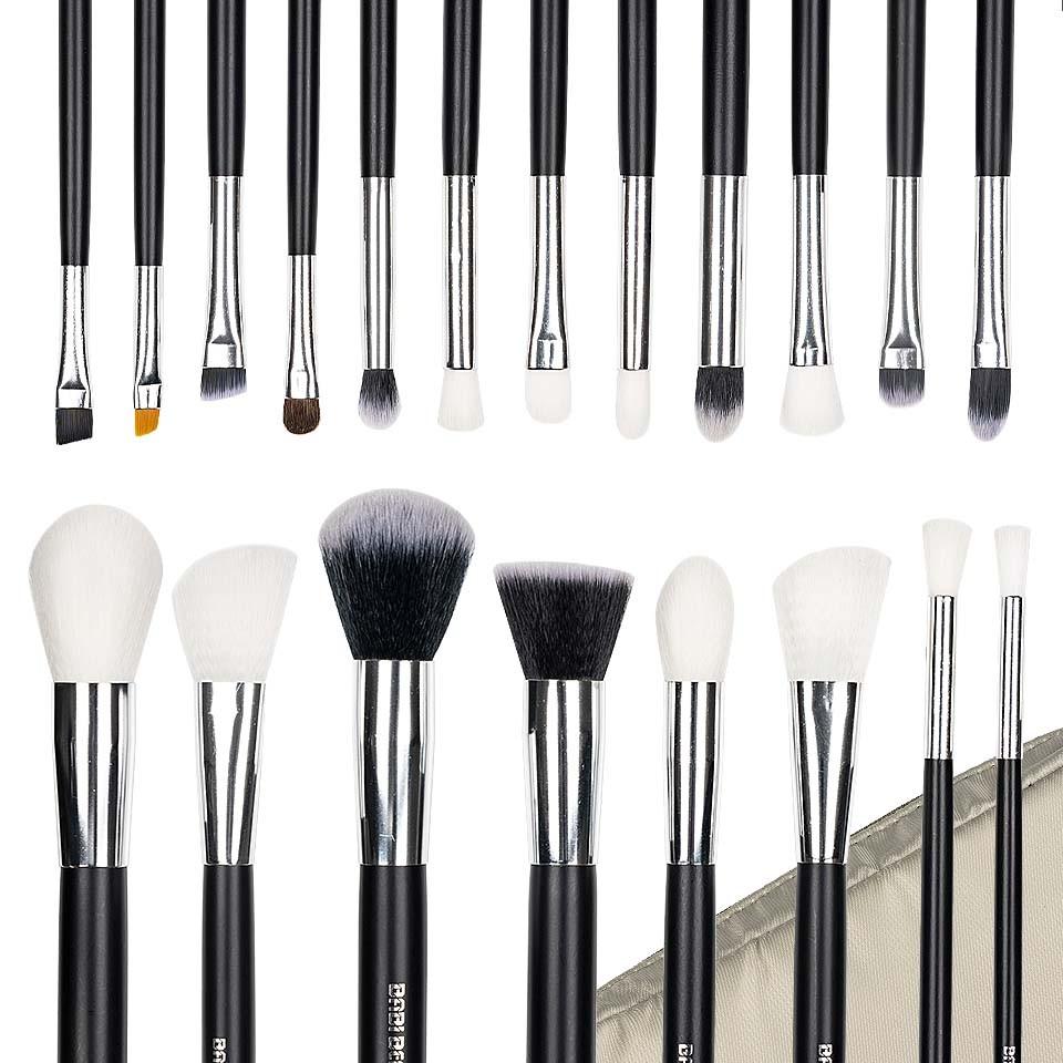 Set 20 pensule machiaj Perfect Make-Up + Borseta Bej CADOU imagine