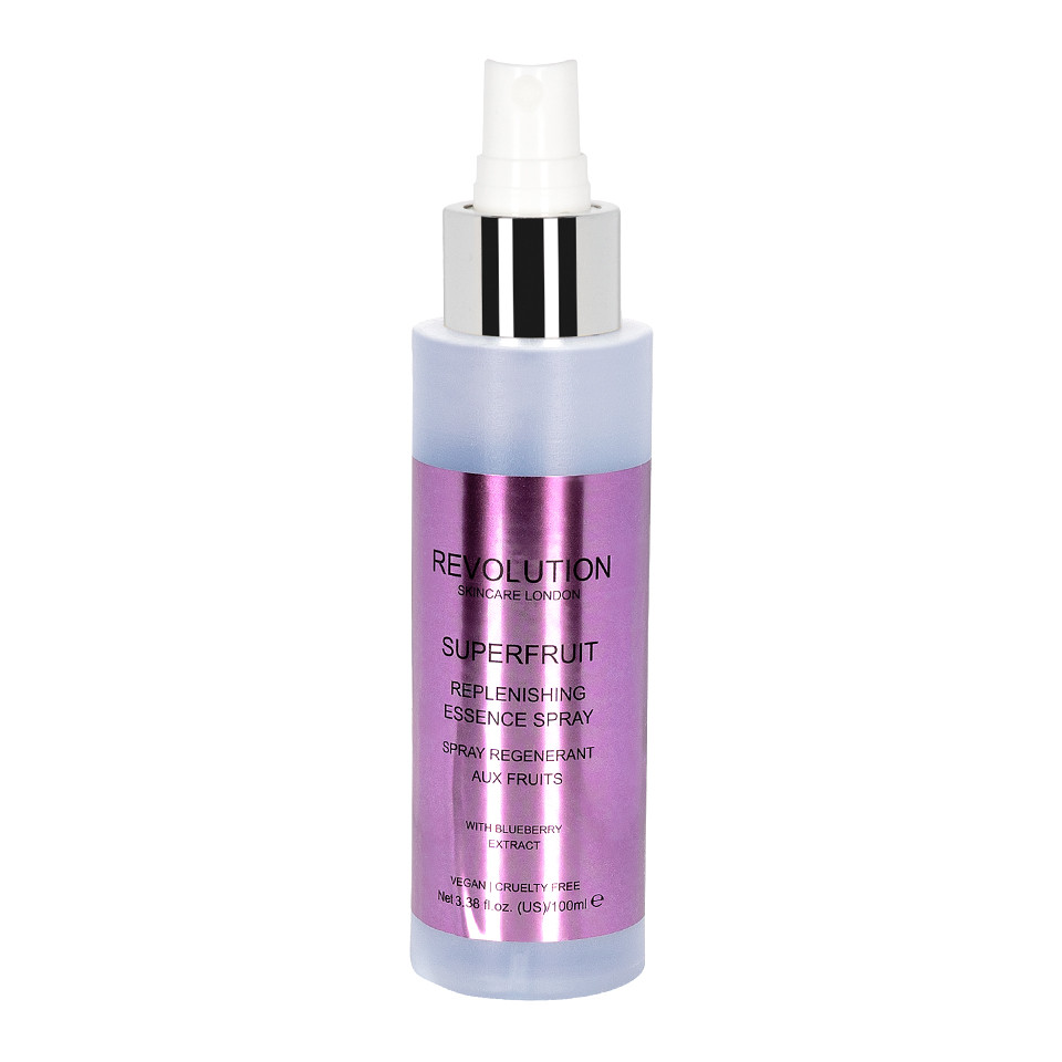 Spray Hidratant Inainte de Machiaj MakeUp Revolution Superfruit Essence, 100ml imagine produs
