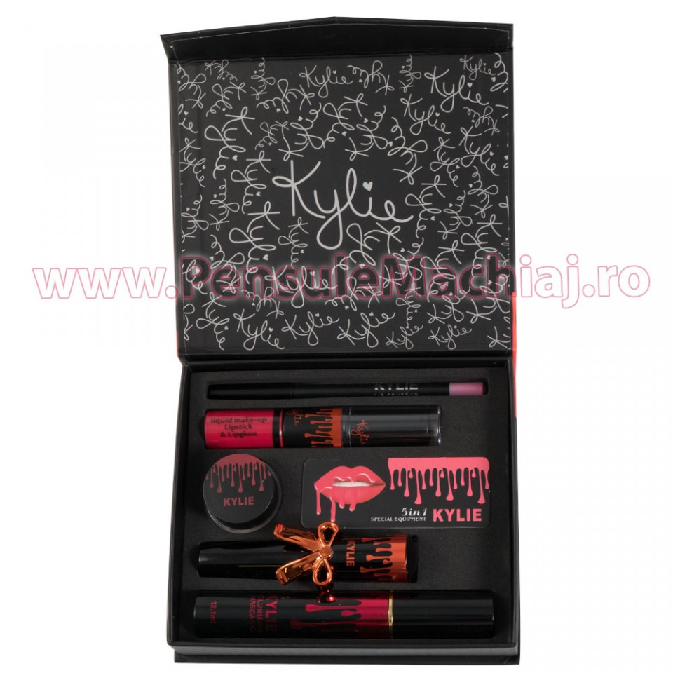 Set Ruj Lichid Mat Red Devil Special Edition