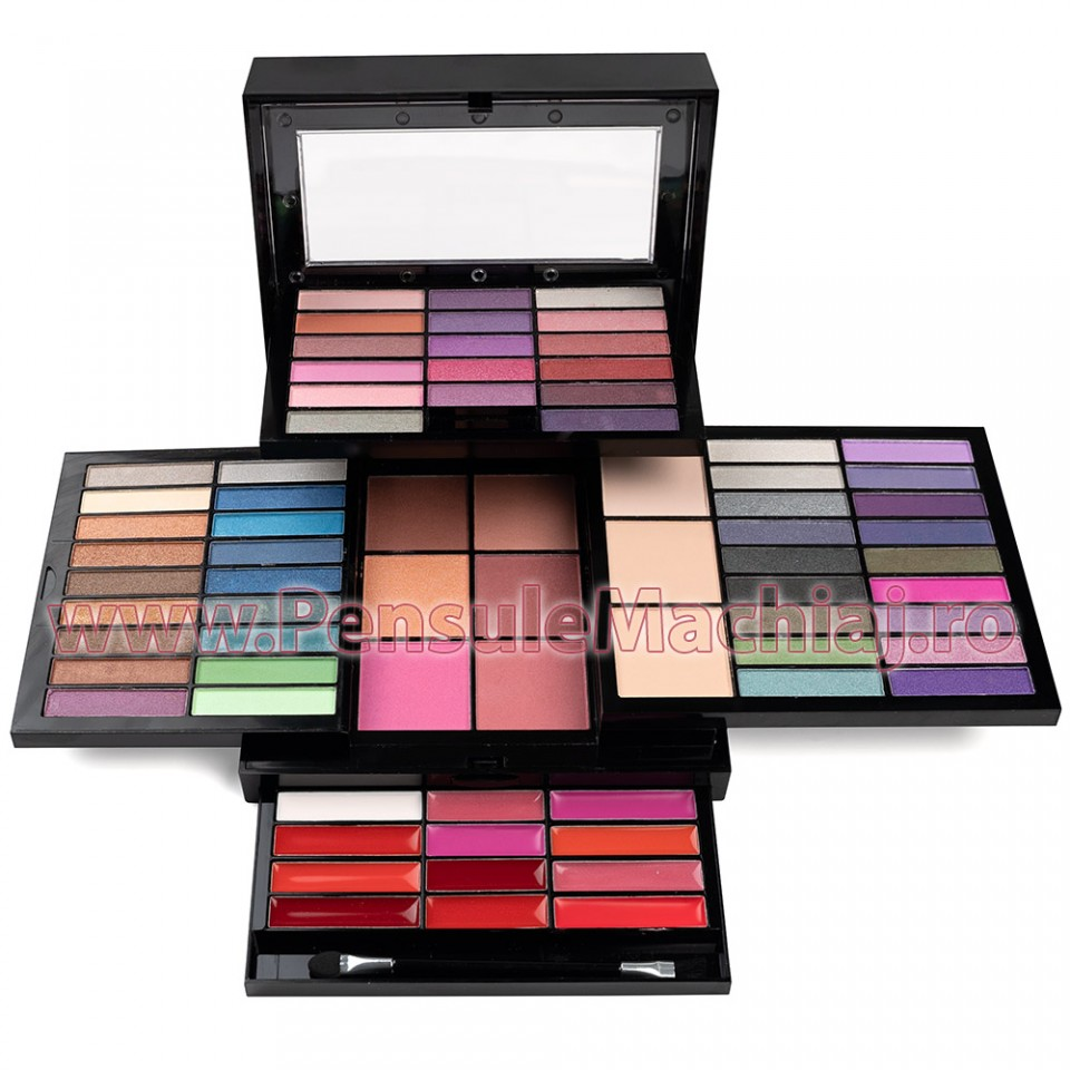 Trusa Machiaj Multifunctionala 74 Culori Make Up Kit Fashion Palette