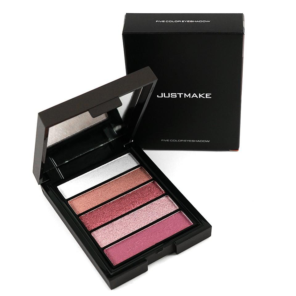 Fard de Pleoape in 5 culori sidefate #01 JUSTMAKE - LightDance imagine produs