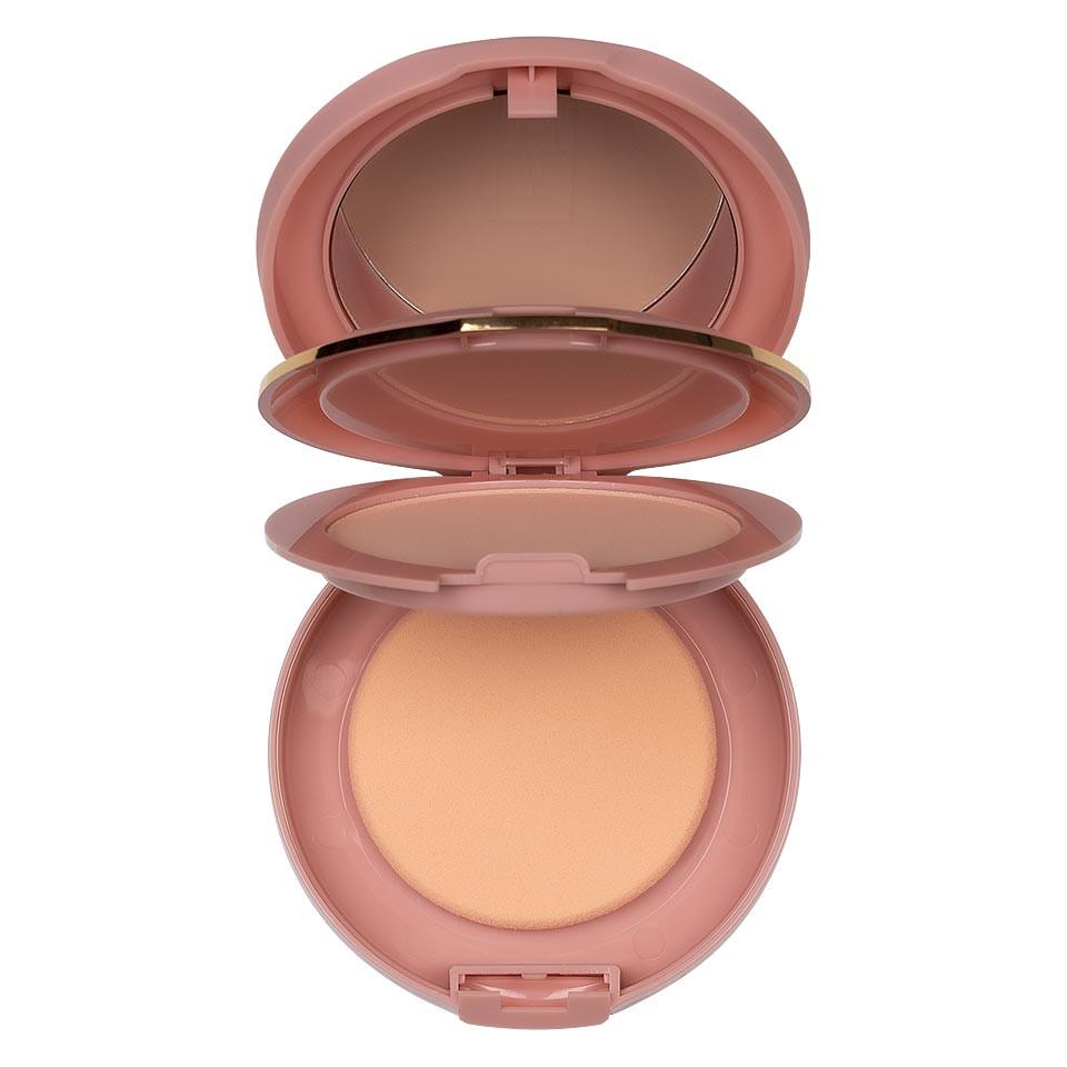 Pudra Compacta Fixare Machiaj 5 in 1 TLM Micro Powder Pink pensulemachiaj.ro