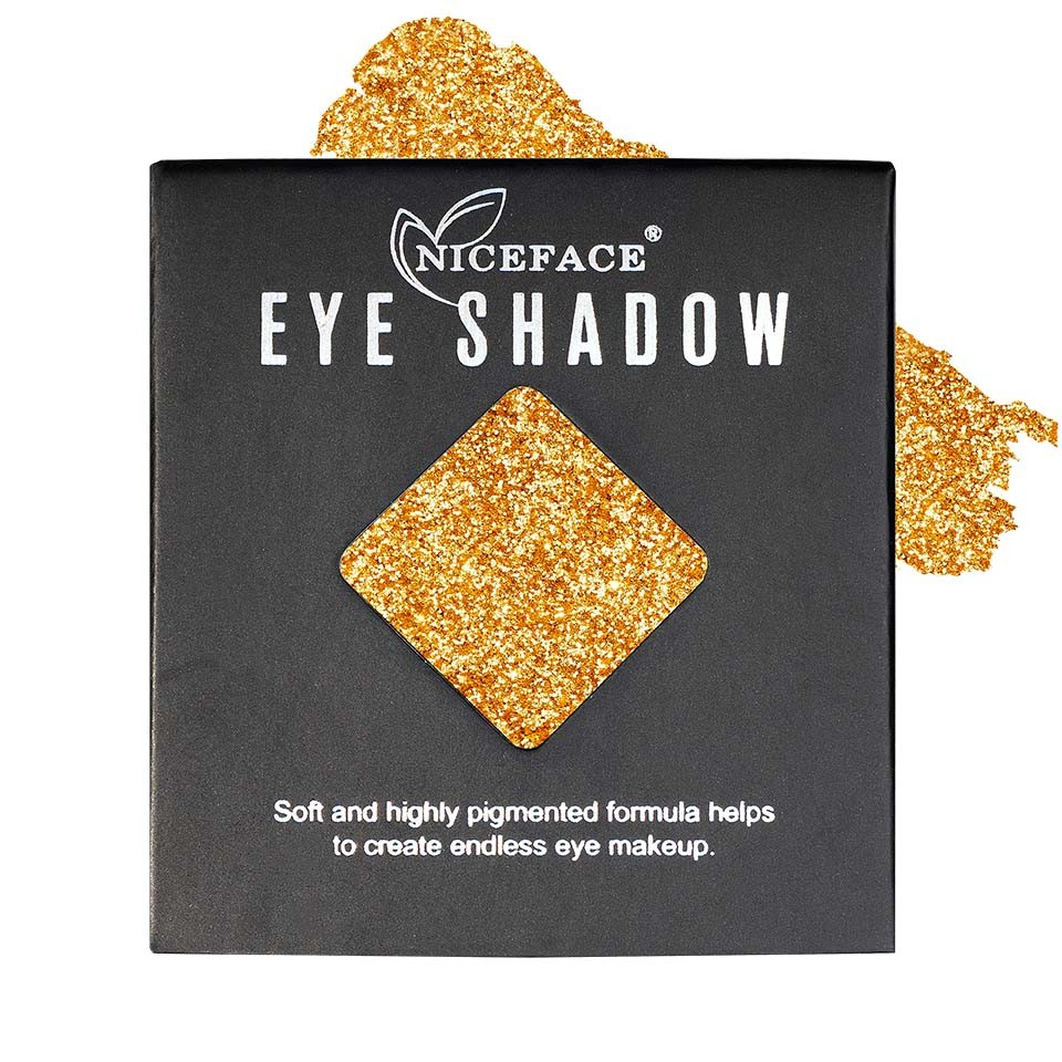 Sclipici ochi pulbere compacta NiceFace Precious Glam #06 poza