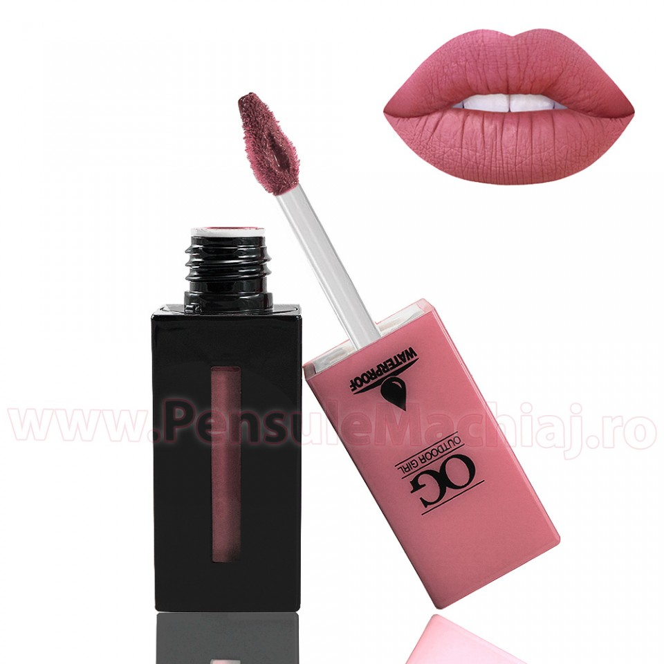 Ruj Lichid Mat Outdoor Girl #101 - Salmon Pink