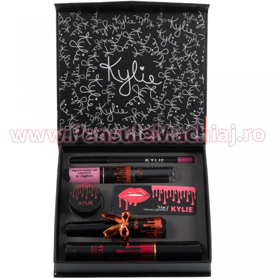 Set Ruj Lichid Mat Rose Pink Special Edition