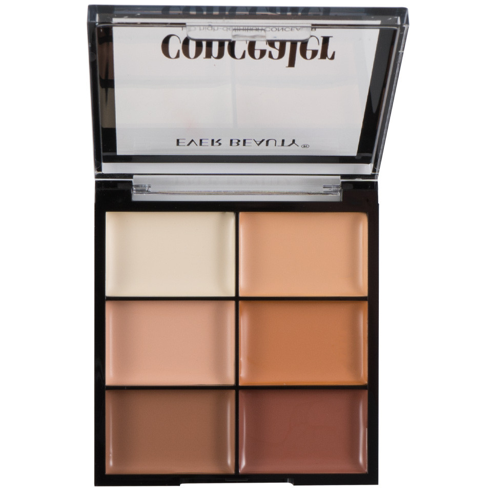 Corector/Concealer, Anticearcan in 6 nuante Gold Fusion Perfect Palette imagine