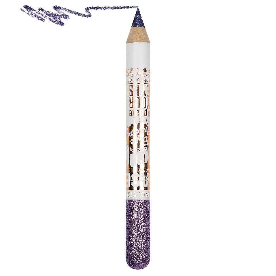 Creion Contur Ochi Colorat cu Sclipici, Waterproof #512 pensulemachiaj.ro