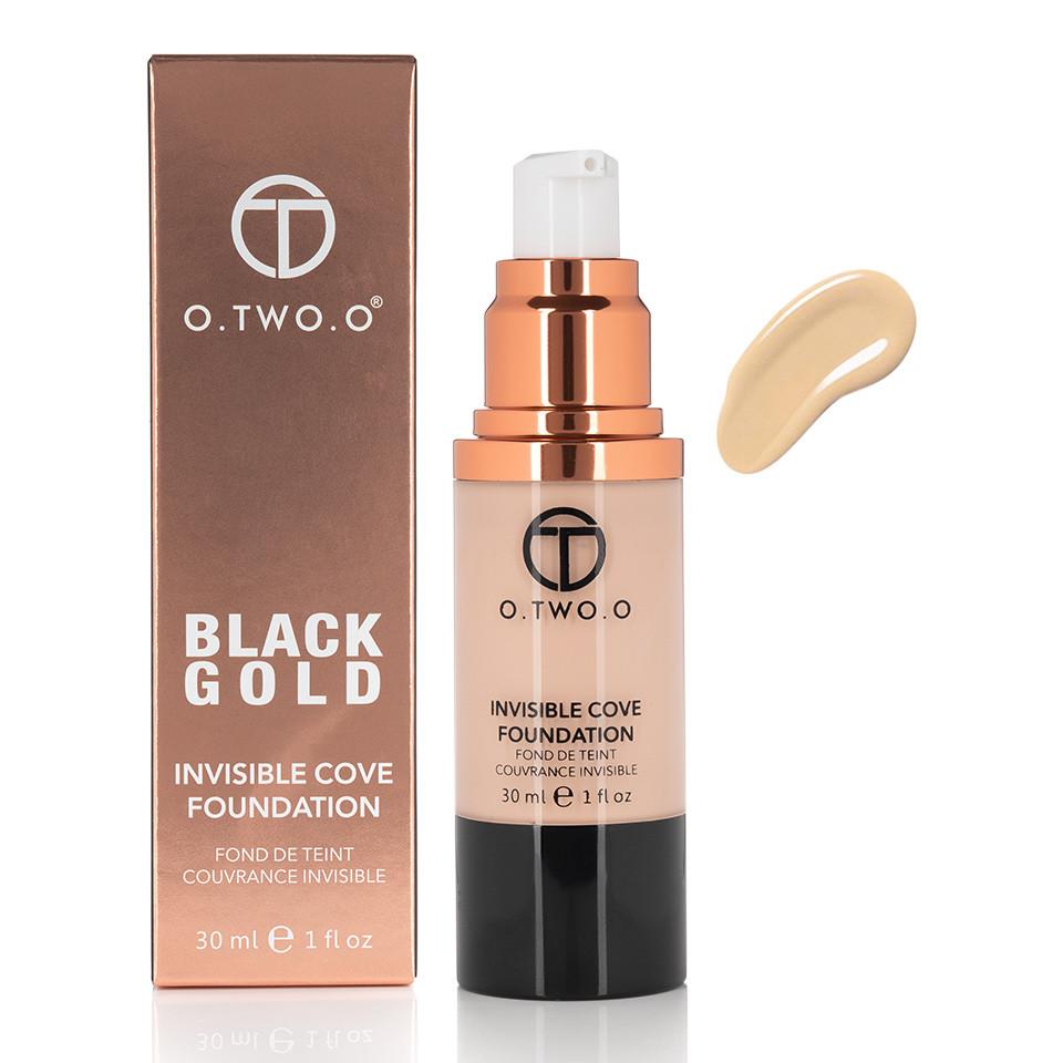 Fond de Ten Invisible Foundation O.TWO.O - Natural Beige, 30 ml imagine