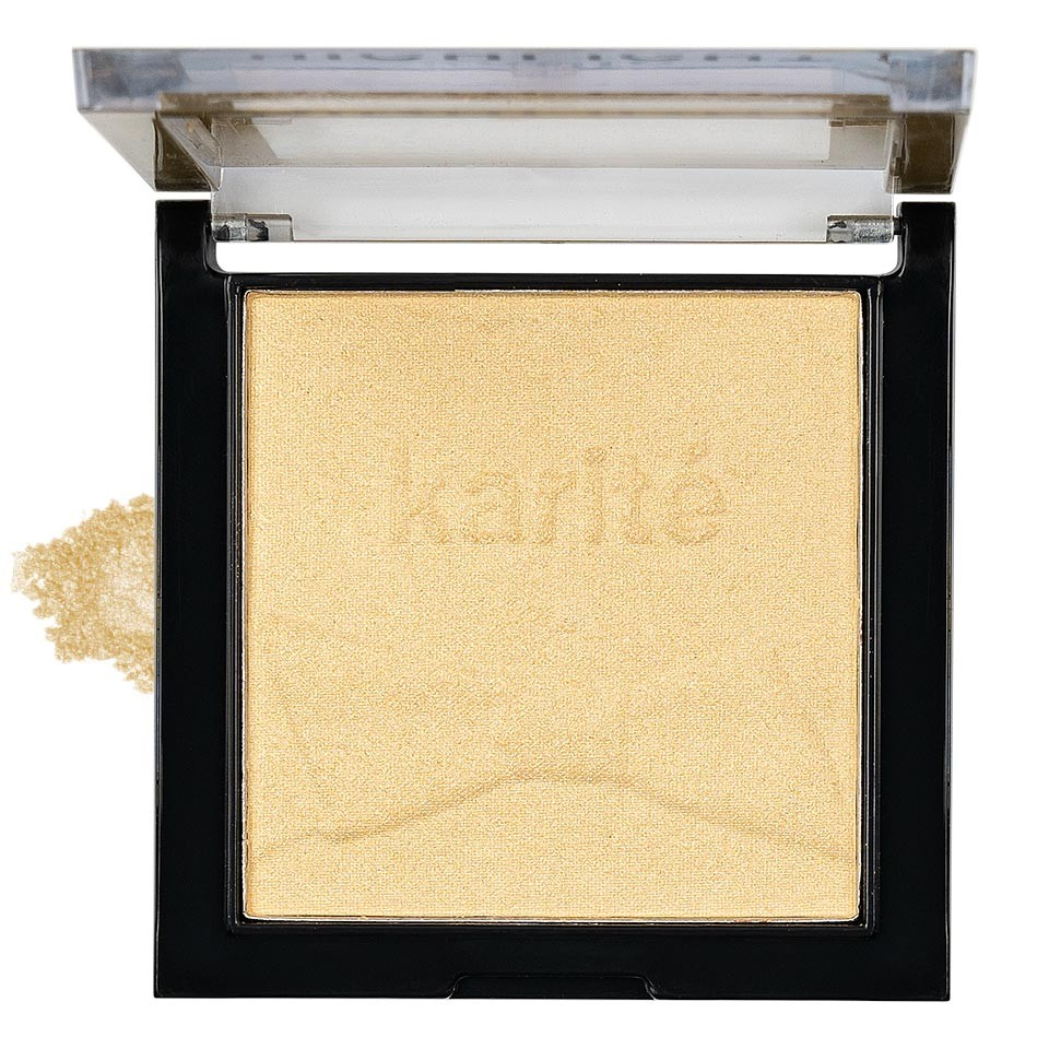 Pudra Iluminatoare Karite Glow Baked, Gold imagine