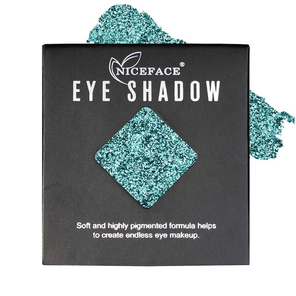Sclipici ochi pulbere compacta NiceFace Precious Glam #12 poza