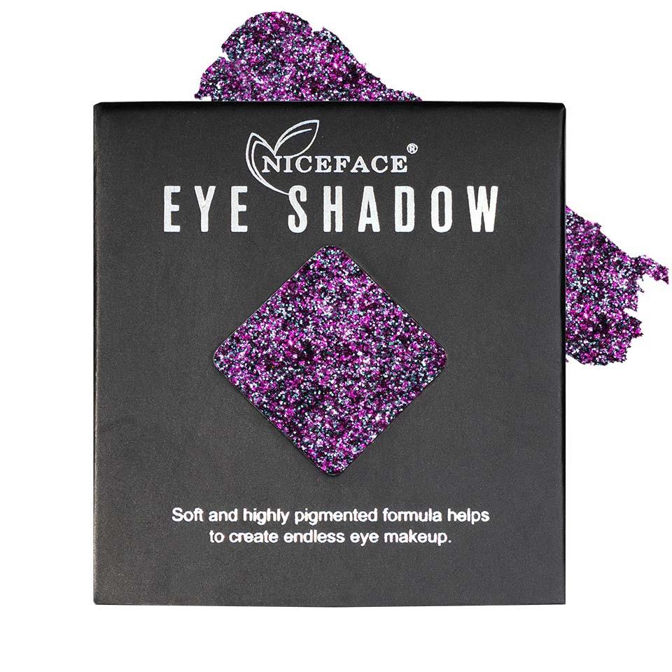Sclipici ochi pulbere compacta NiceFace Precious Glam #17 poza