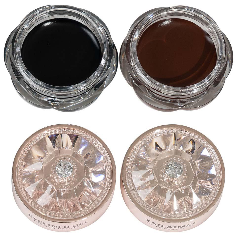 Set Eyeliner Gel TLM The New Upgrade Black & Brown pensulemachiaj.ro