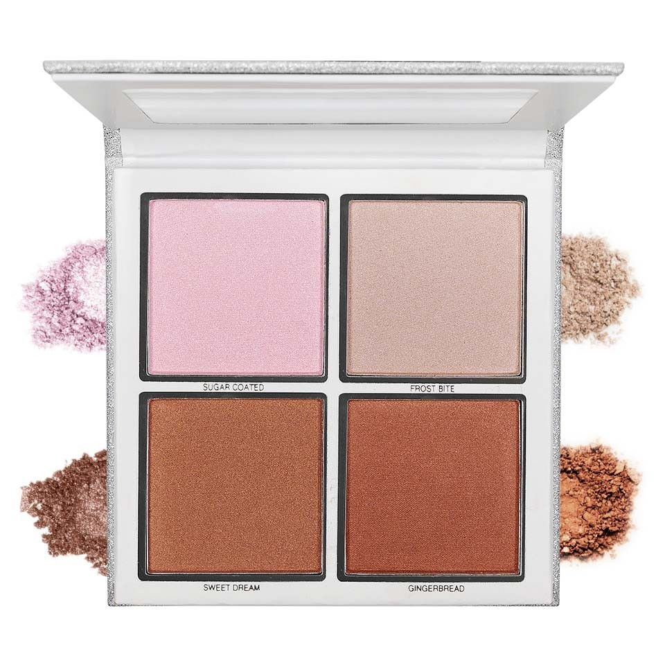 Iluminatoare Pudra 4 culori The Wet Set Queen Highlighter imagine produs