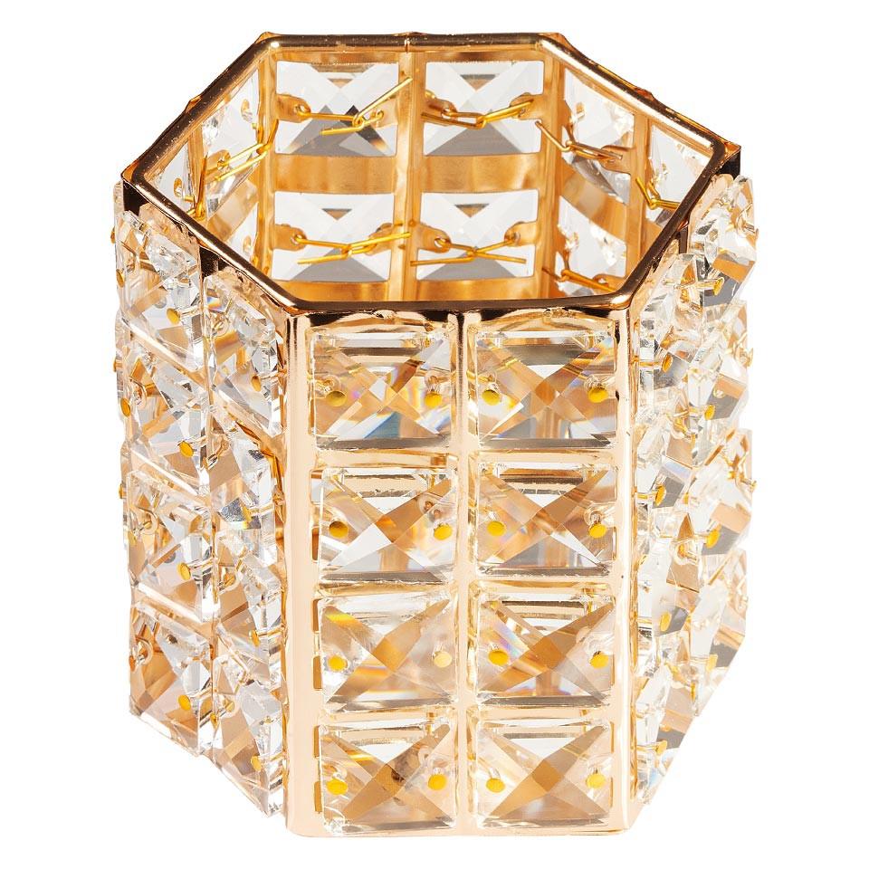 Suport Pensule Crystal, Rich Gold imagine produs