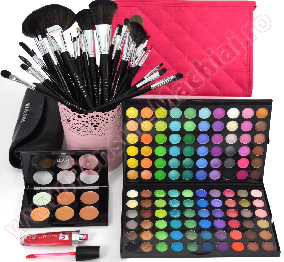 Set Cadou Produse Cosmetice Rainbow For Make-up