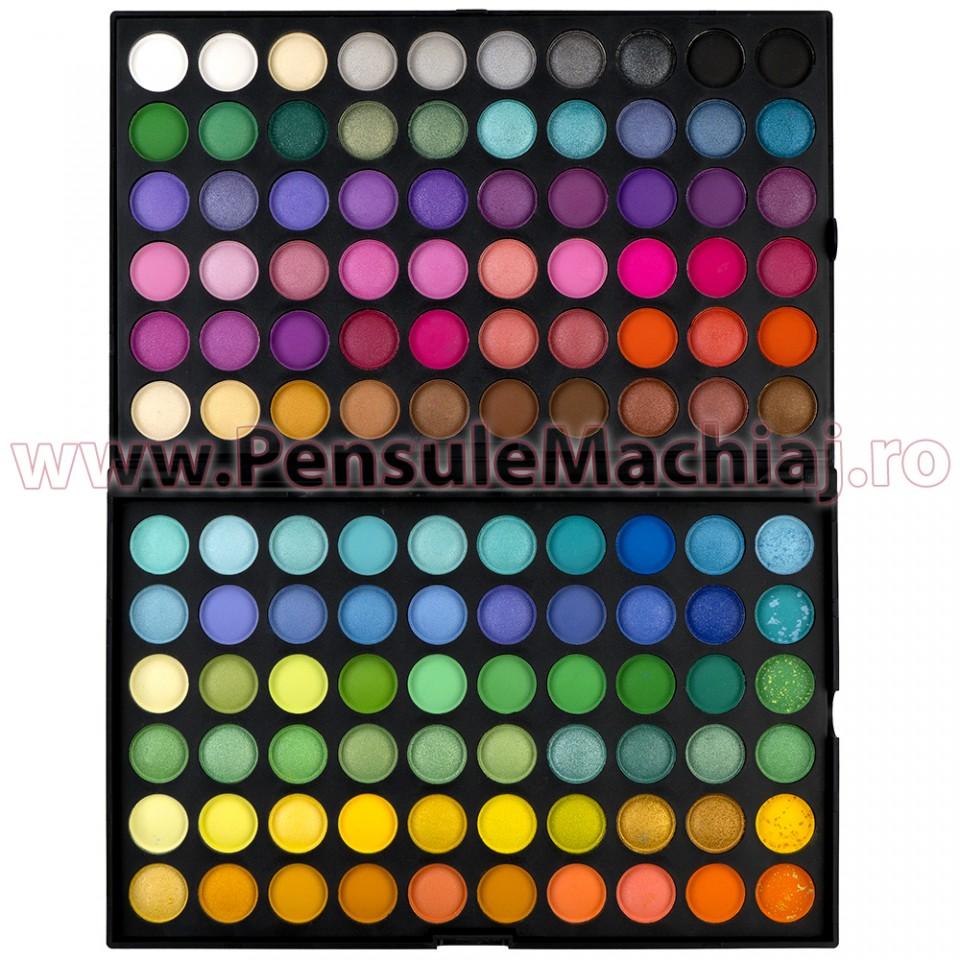 Trusa Farduri 120 culori Fraulein38 Jelly Matte