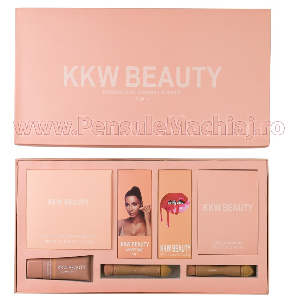 Kit Machiaj Kkw Complete Beauty