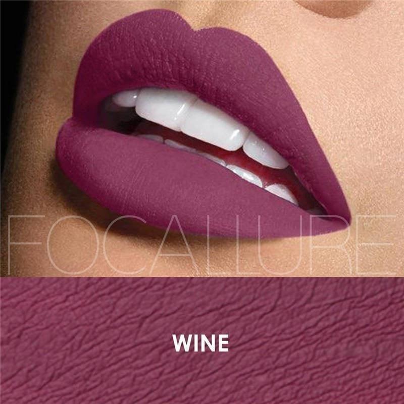 Ruj Lichid Mat Focallure Wine #13