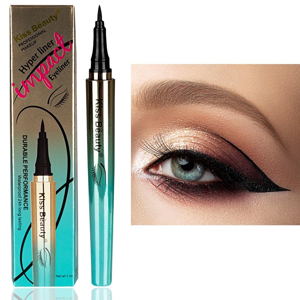 Eyeliner lichid Kiss Beauty Impact Hyper liner