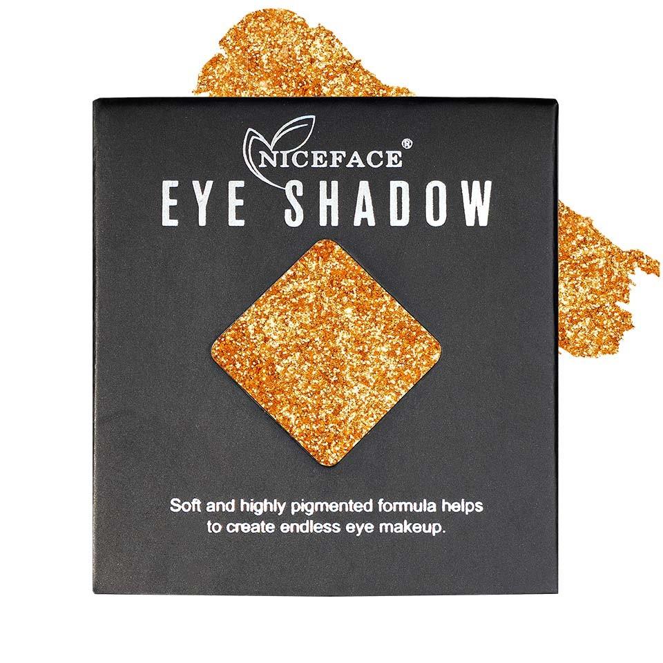 Sclipici ochi pulbere compacta NiceFace Precious Glam #03 poza
