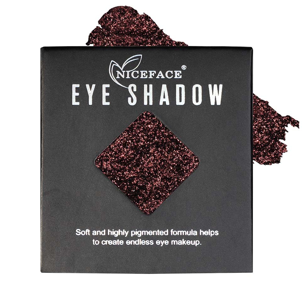 Sclipici ochi pulbere compacta NiceFace Precious Glam #33 poza