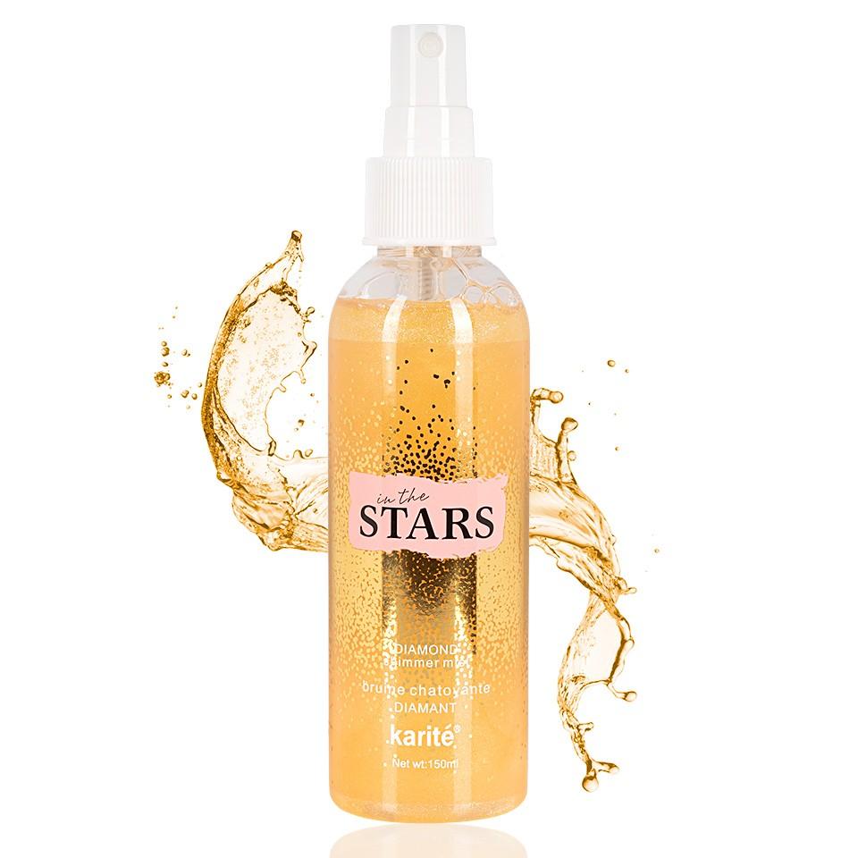 Spray Fixare Machiaj Karite Glitter In the Stars imagine
