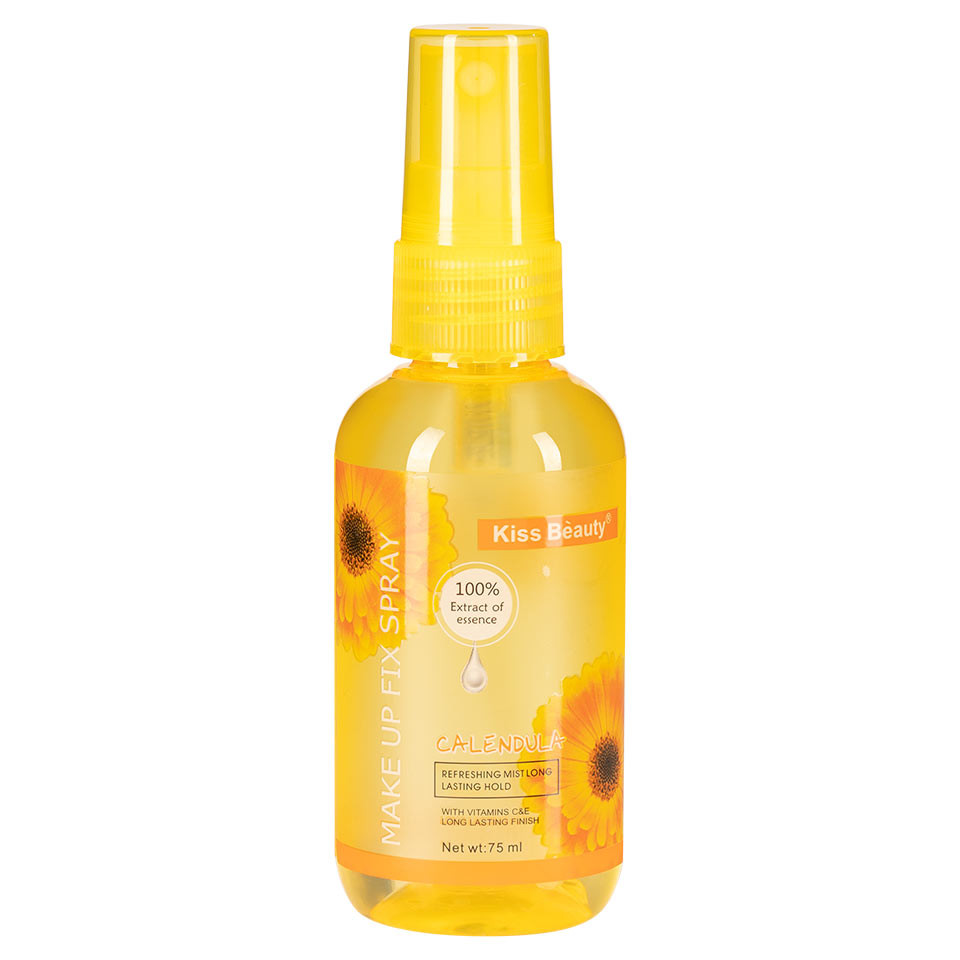 Spray Fixare Machiaj Kiss Beauty Aroma de Galbenele, 160ml pensulemachiaj.ro