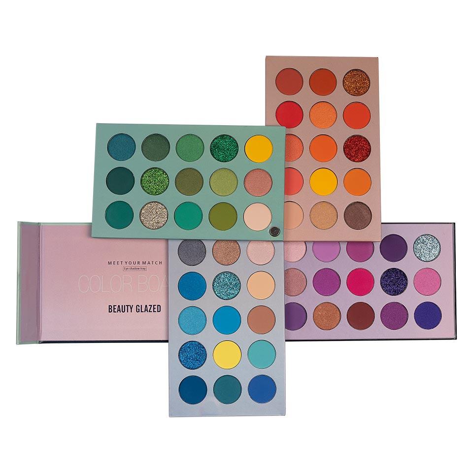 Trusa Farduri Beauty Glazed Color Board