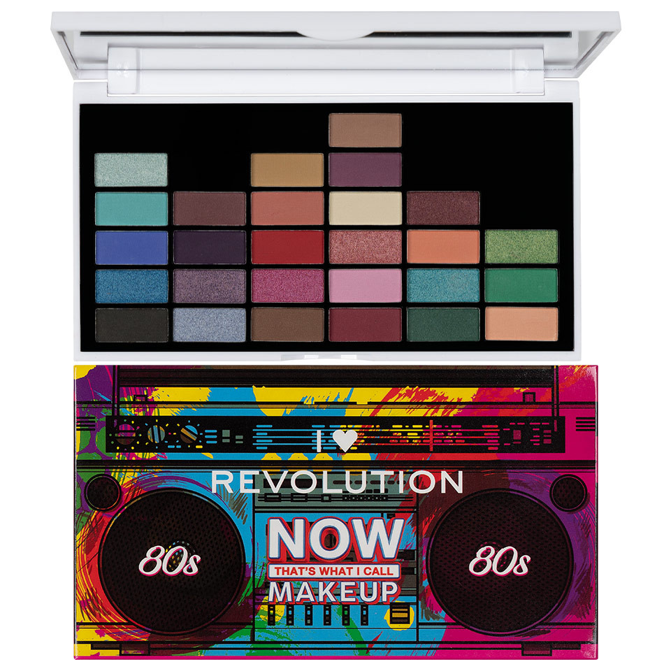 Trusa Farduri MakeUp Revolution 80s Makeup imagine produs