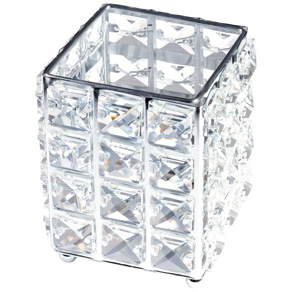 Suport Pensule Crystal, Star Silver