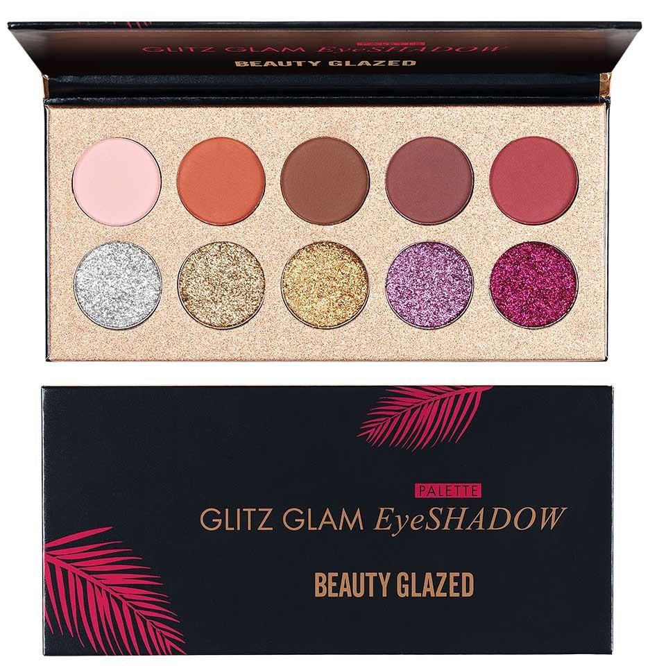 Trusa Farduri Glitter Ochi Beauty Glazed Glitz Glam Special Edition