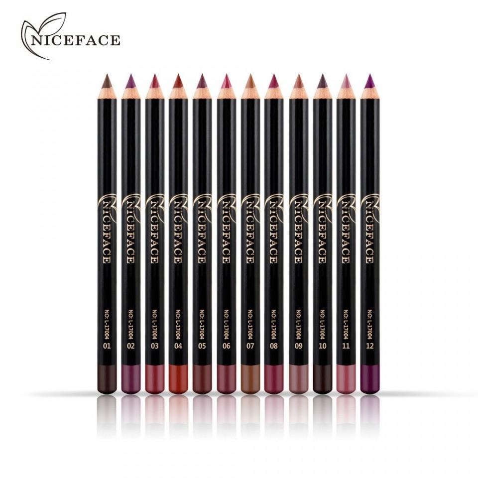 Set Creioane De Buze 12 Culori - Smooth Creionette