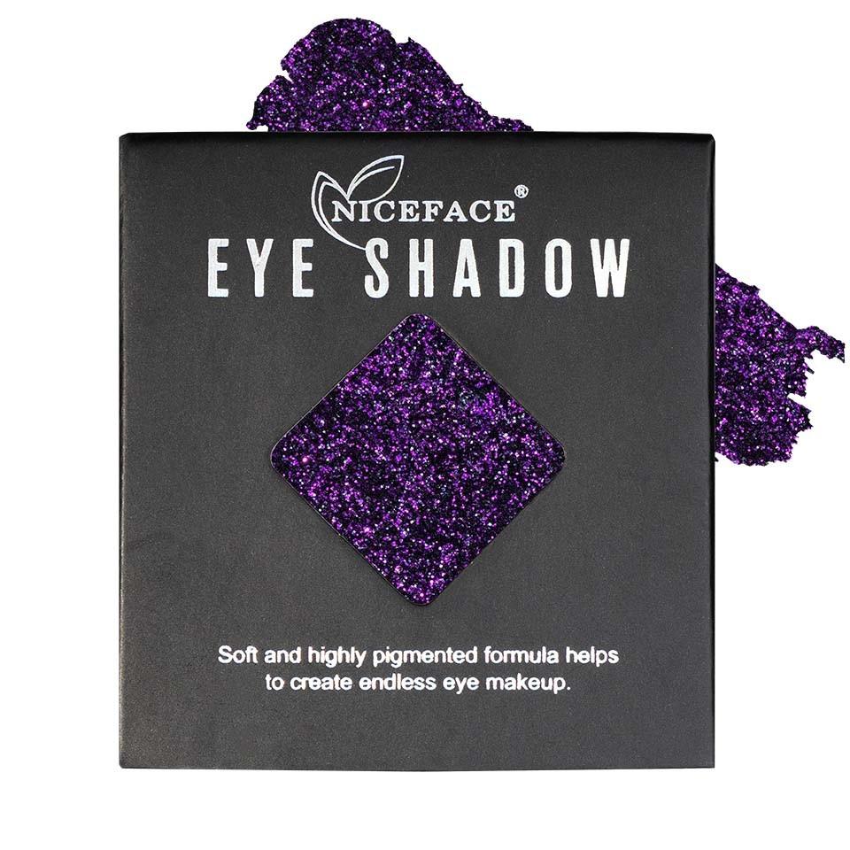 Sclipici ochi pulbere compacta NiceFace Precious Glam #19 poza