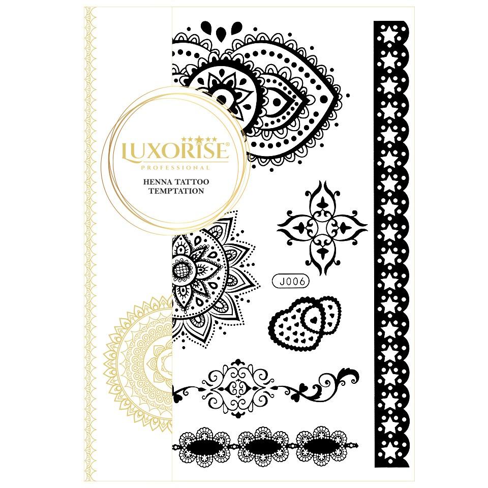 Tatuaj Temporar LUXORISE Henna Temptation From India J006 pensulemachiaj.ro