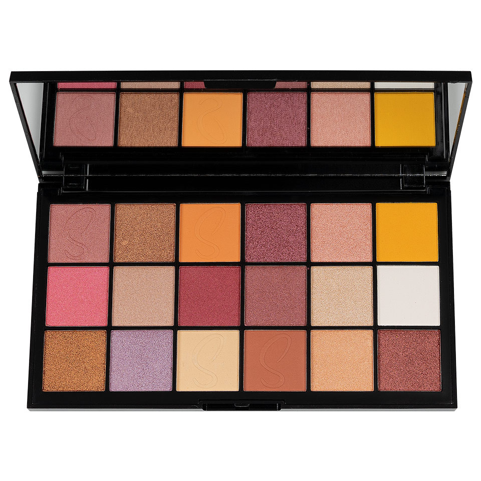 Trusa Farduri MakeUp Revolution X Sebile Night 2 Night Shadow Palette imagine produs