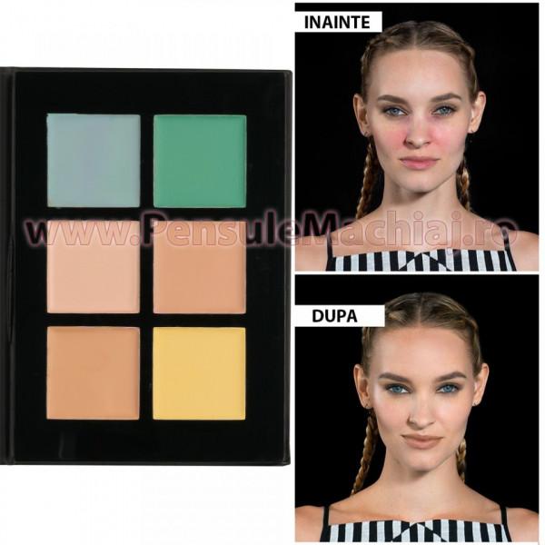 Poze Corector 6 culori Premium Perfect Palette