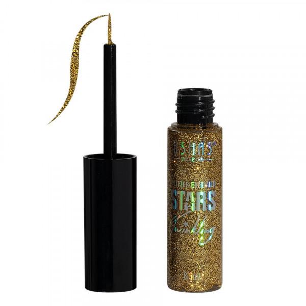 Poze Eyeliner colorat cu sclipici Ushas Stars #04