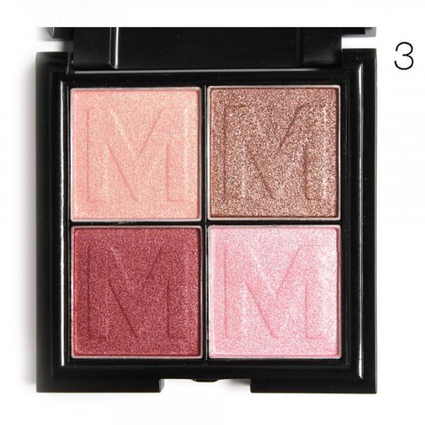 Poze Fard de Ochi My Boon Pinky 4 in 1 #03, cu oglinda incorporata, Premium Edition