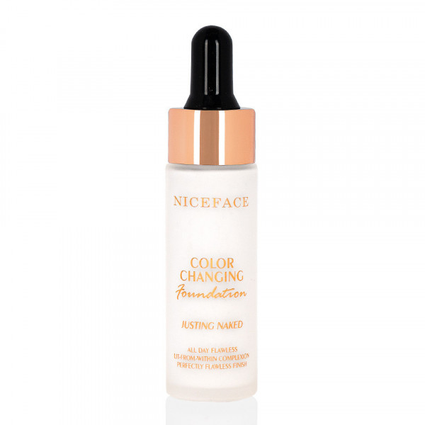 Poze Fond de Ten Corector Culoare Niceface Colour Changing Foundation