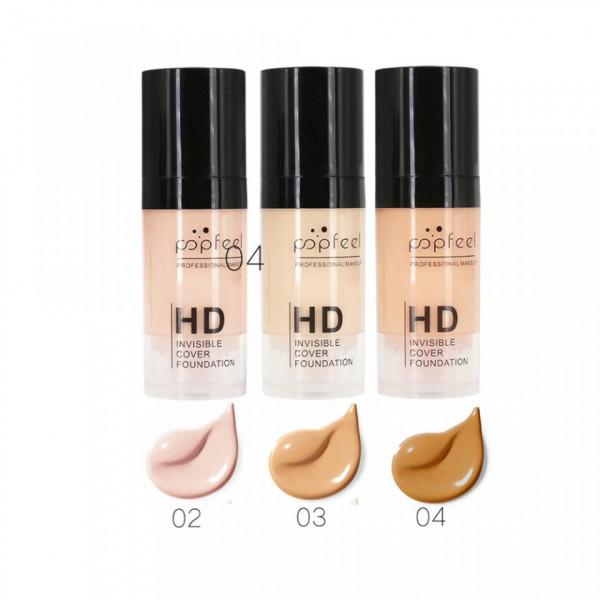 Poze Fond de Ten HD Invisible Cover & BB Cream SPF 20 + CADOU Anticearcan
