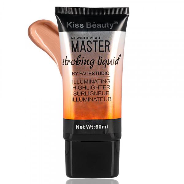 Poze Fond de Ten Lichid Kiss Beauty Master Strobing Liquid #03, 60ml