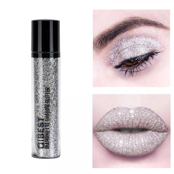 Poze Glitter Pulbere Ochi si Buze Diamond Glitter #06 Ice Queen