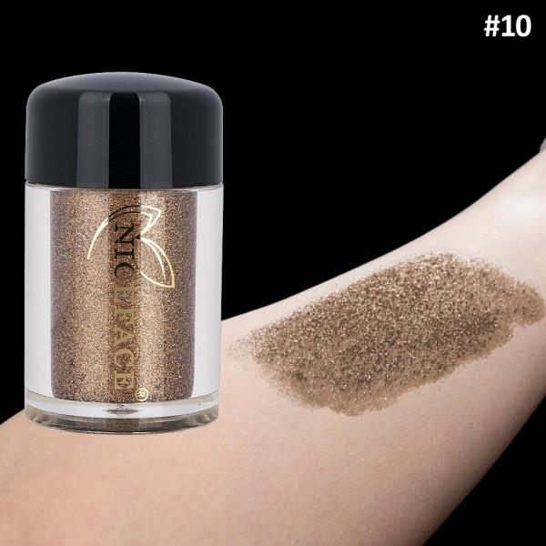 Poze Pigment Machiaj Ochi Niceface Brown Sugar #10