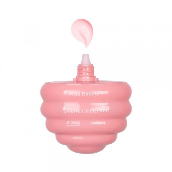 Poze Primer Machiaj Kiss Beauty Ice Cream Pink #01, 40ml