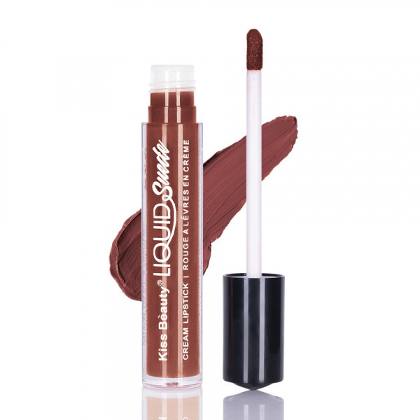 Poze Ruj lichid mat Kiss Beauty Cinnamon #09