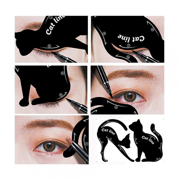 Poze Sablon pentru Eyeliner - My Favorite Cat Line