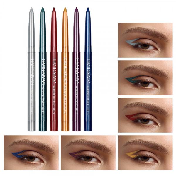 Poze Set Creion Retractabil pentru Contur Ochi Handaiyan #02, 6 buc